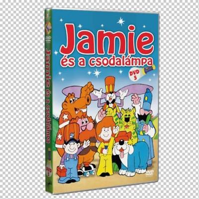 - Jamie és a csodalámpa 5. - DVD